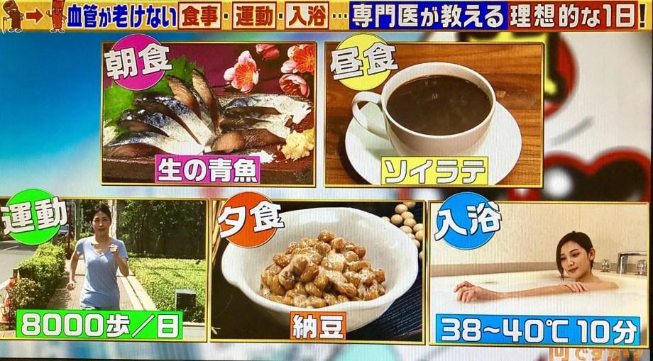 【この差ってなんですか?】血管にはコーヒー+豆乳がイイ!血管が若々しい人と血管が老けている人の生活習慣の差とは血管の病気を防ぐ方法も!