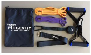 Versatile. Compact. Full-body workout in a bag!