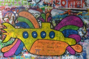 The Yellow Submarine from the Lennon Wall.
