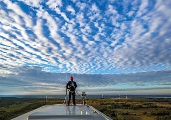 Encuesta sobre mantenimiento de parques eólicos