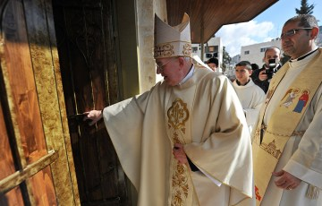Bishops from across Europe and North America visit Holy Land