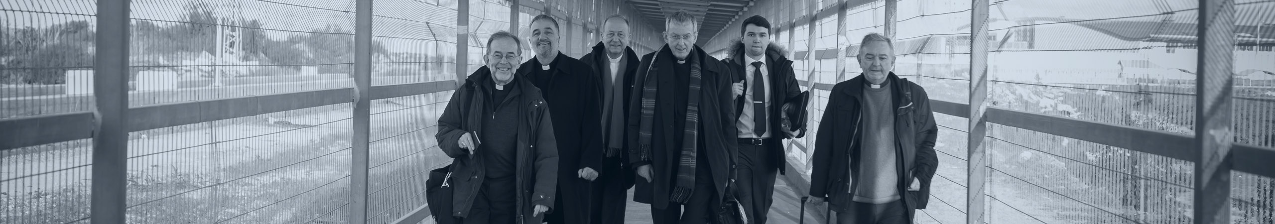 Bishops walk from Erez to Gaza