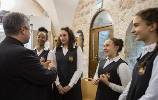 Hope for the future in the Holy Land