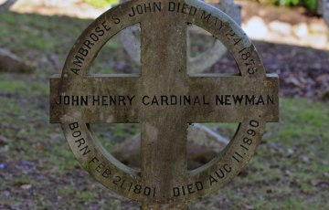 Beatification of Cardinal Newman to take place near his Burial Place