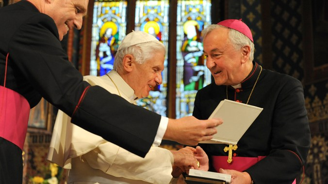 Archbishop Nichols' Farewell Address to Pope Benedict XVI