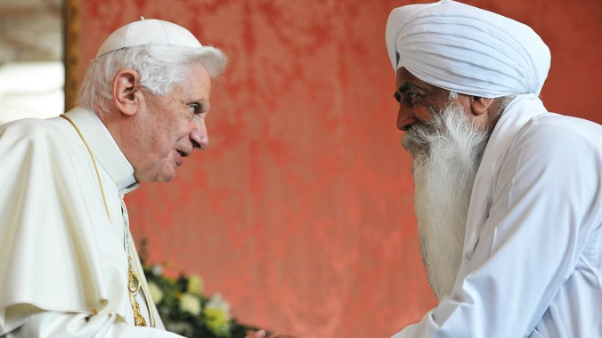Pope Benedict's Address to Representatives of other Religions