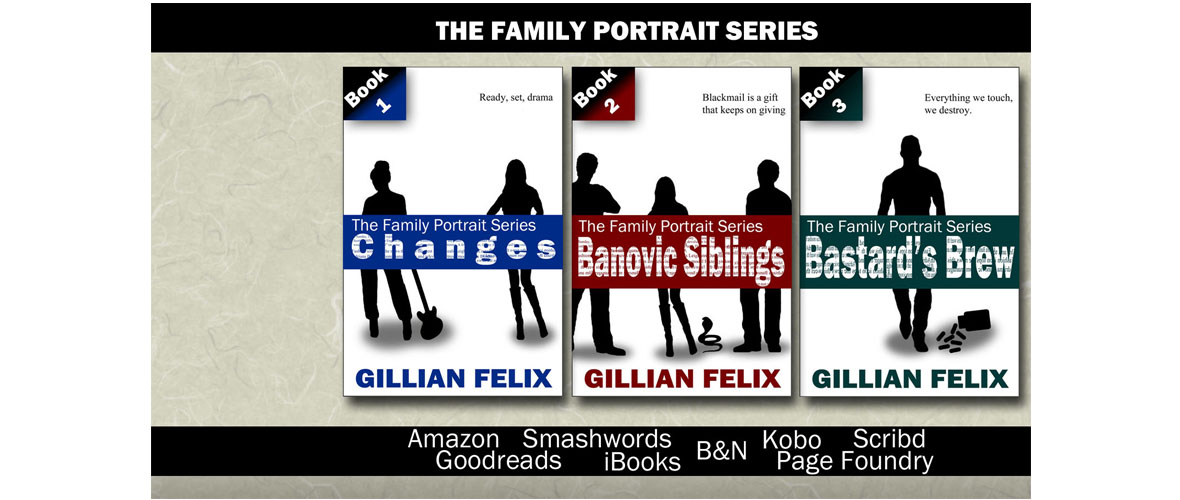 Flat cover Family Portrait series