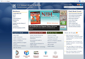The National Library of Medicine - National Institutes of Health