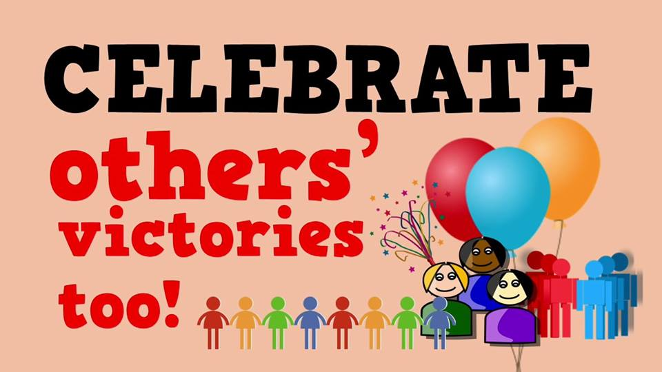 Image result for celebrate with others them