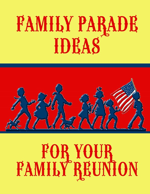 Small Town Parade Float Ideas Family Reunion Helper