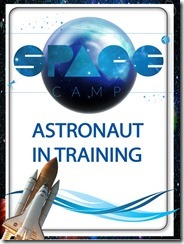 space camp badge 2