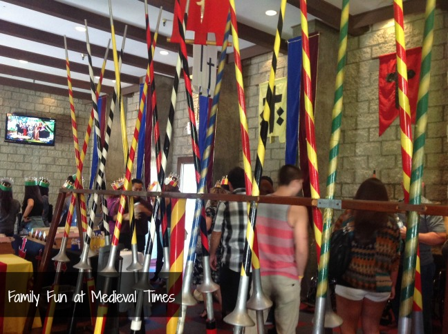medieval times flags