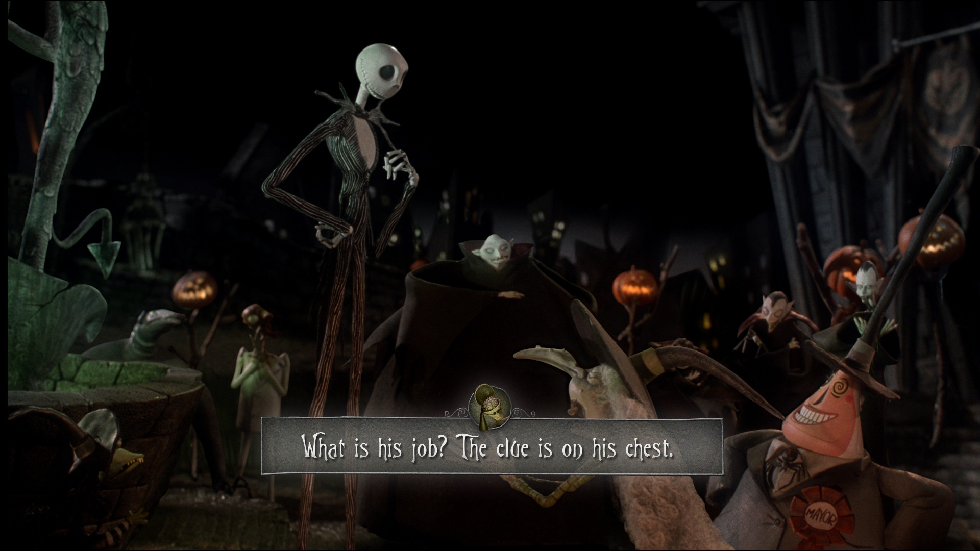 Interactive Movie Experience of The Nightmare Before Christmas