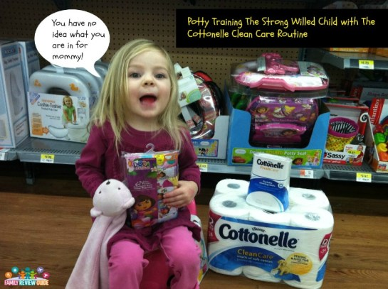 cottonelle potty #CtnlCareRoutine #PMedia and #ad