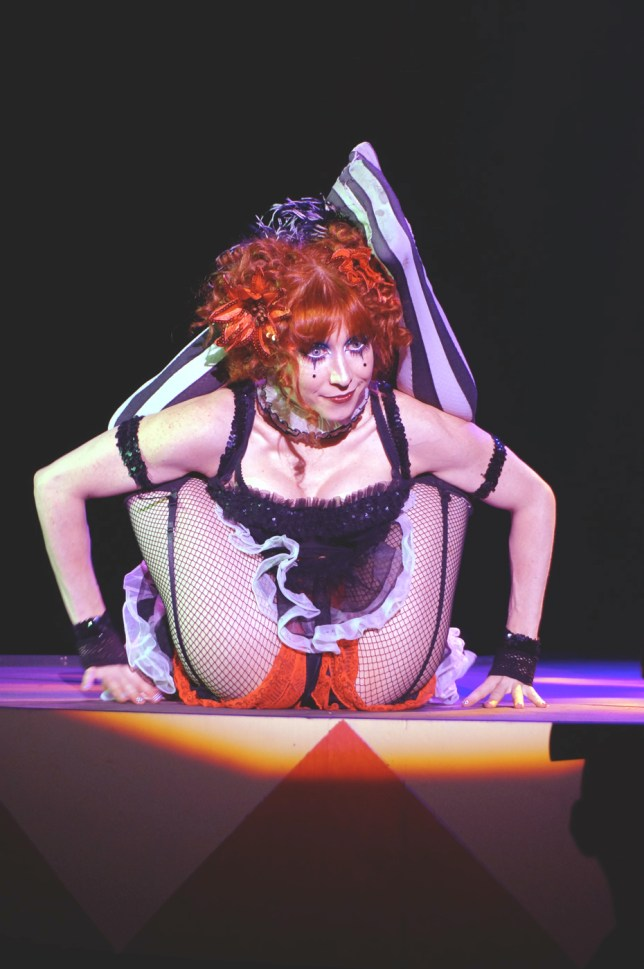 Elvira's Big Top Contortionist