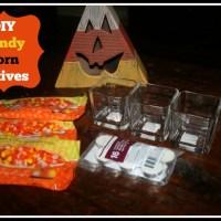 DIY Candy Corn Votives