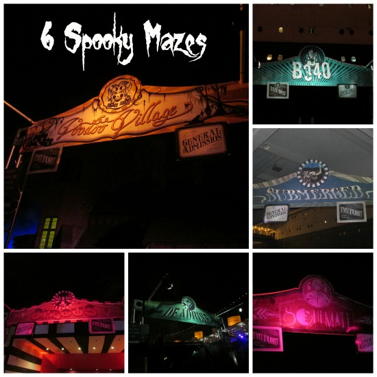 Dark Harbor Mazes