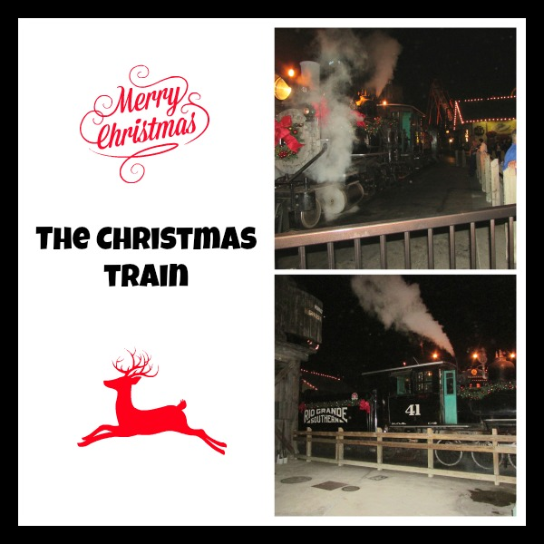 Knotts Merry Farm Christmas Train