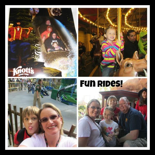 Knotts Merry Farm Fun Rides