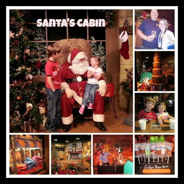 Knotts Merry Farm Santas Cabin