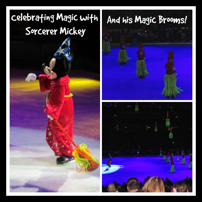 Celebration Disney with Sorcerer Mickey