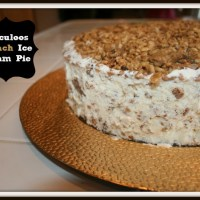 Speculoos Crunch Ice Cream Cake