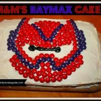 M&M's Baymax Cake