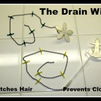 Drain Wig catches hair and prevents clogs
