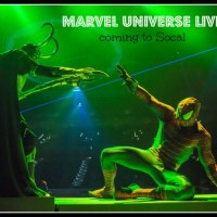 Marvel Universe Live coming to Socal
