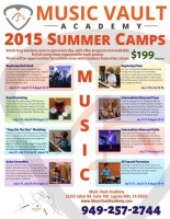 5 reasons you should attend summer camp at the Music Vault Academy
