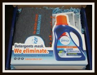 Febreze In-Wash Odor Eliminator = no stink!