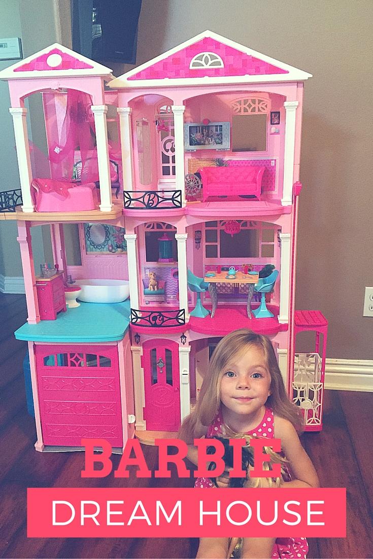 A Girls Dream Come True The Barbie Dream House Family