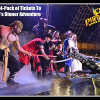 Blogiversary Day 7: Win a Four-Pack of Tickets To Pirates Dinner Adventure