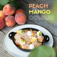 Peach Mango Cobbler Recipe