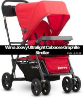 Joovy Caboose Ultralight Graphite  + Giveaway