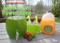 Captain Underpants Alien Super Power Juice