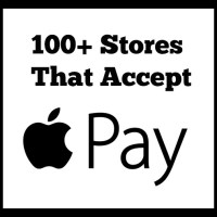 100+ Stores that Accept Apple Pay