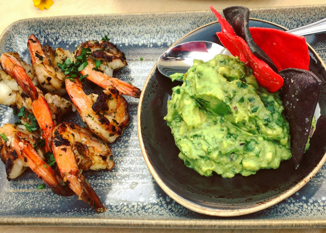 Marriott_Shrimp_guacamole