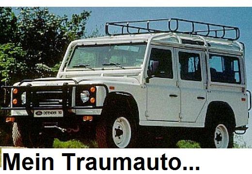 Mein Traumauto, ein LAND-ROVER Defender