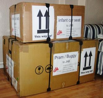 Kisten für den Umzug