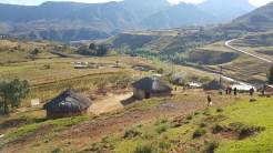 Sicht auf das Camp von Ha Khanye