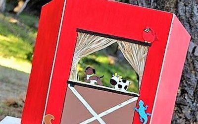 5 ideas para hacer un teatro de títeres para niños