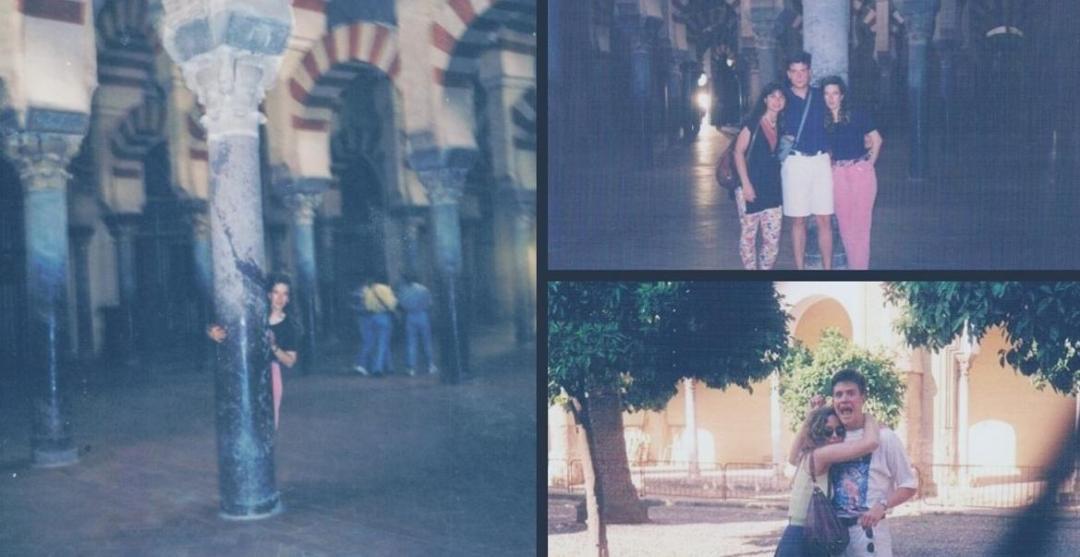 Mequita de Córdoba collage chichos vintage