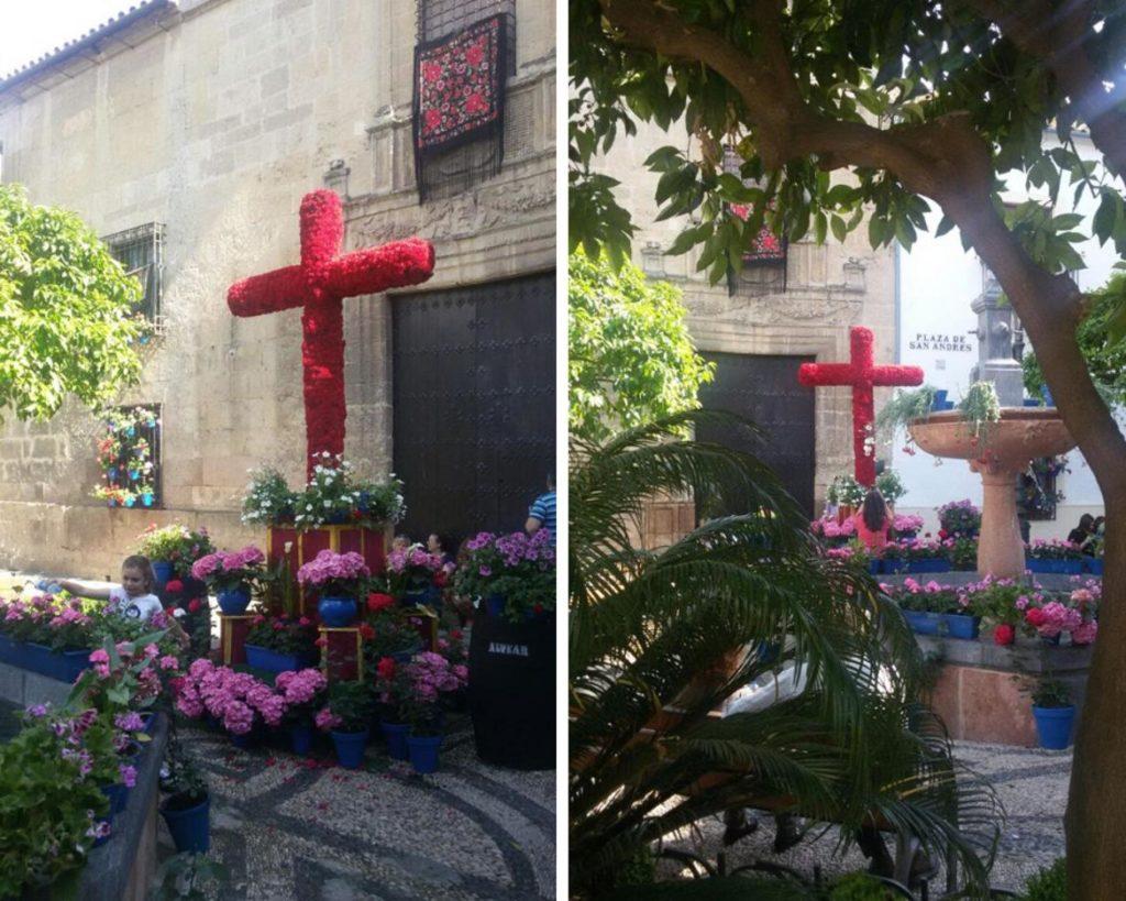 Cruz de mayo de la Plaza de San Andrés en Córdoba