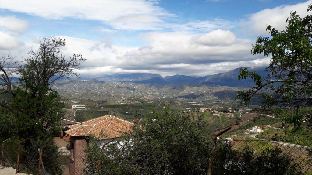 Paisaje de Iznate en Málaga