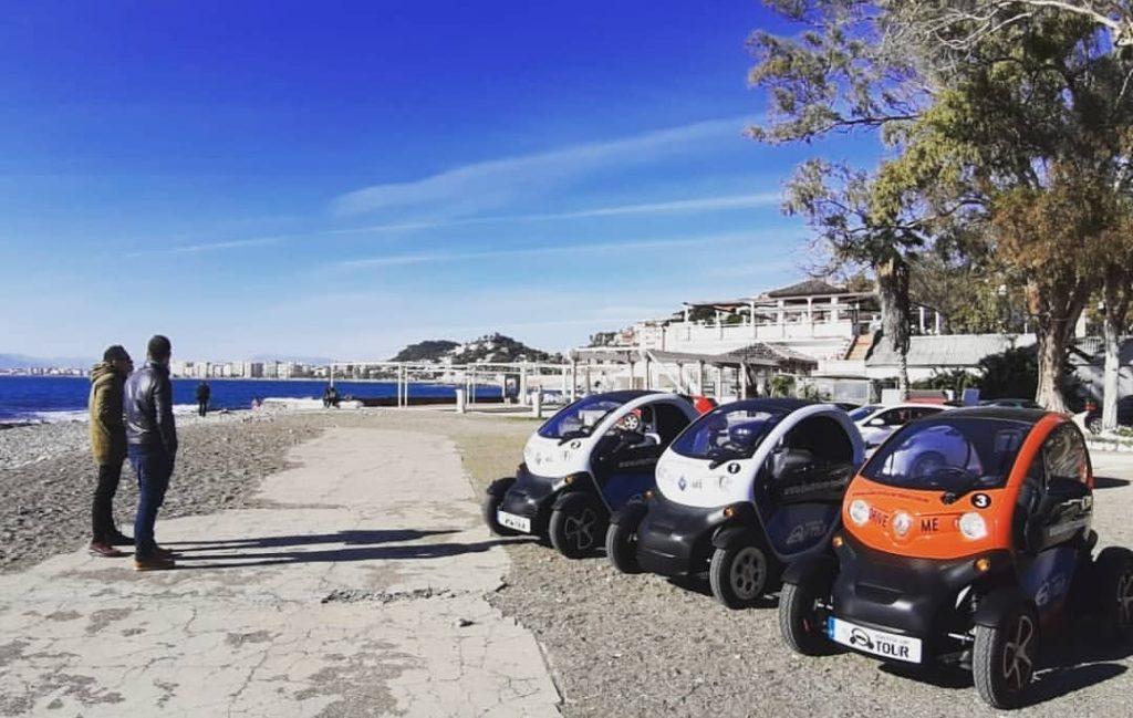 Rutas en coche eléctrico por Málaga, Balneario