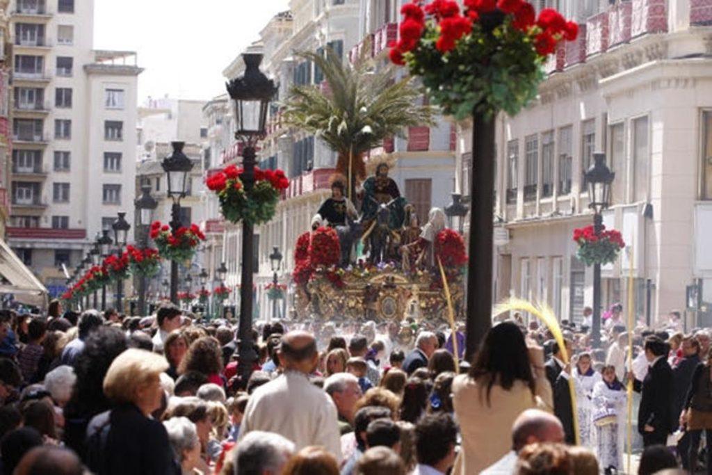 Procesión de La Pollinica, Semana Santa Málaga