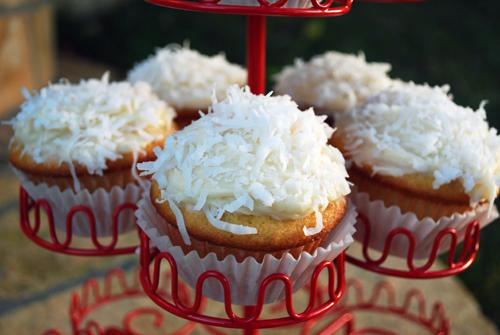 Dreamy Coconut Cupcakes by FamilySpice.com