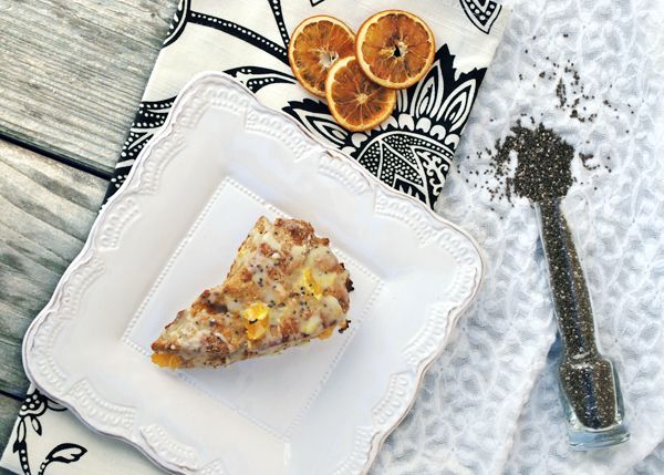 Whole Wheat Orange Scones with Chia Seeds by FamilySpice.com