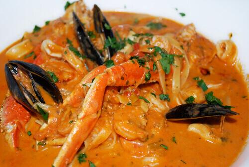 Brazilian Seafood Stew (Moqueca de Peixe) by FamilySpice.com